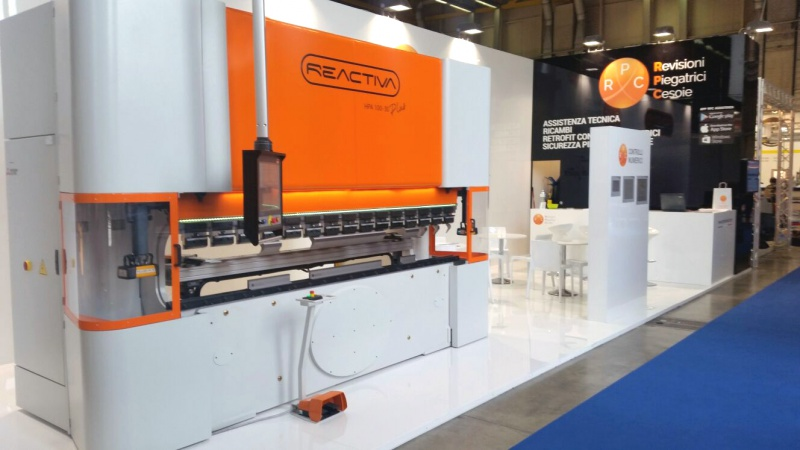 Launch of the new Reactiva Press Brake at the Lamiera Fair