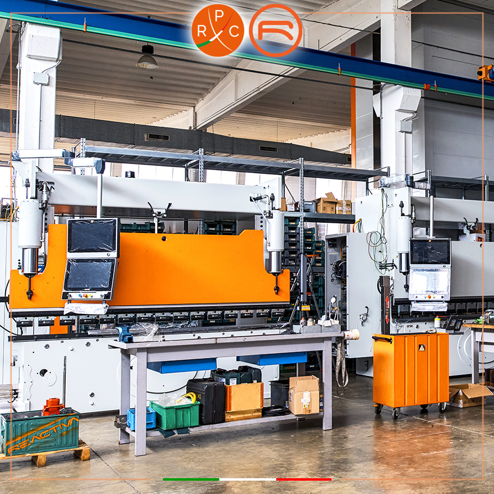 RPC offers its own Reactiva hybrid press brake on the market