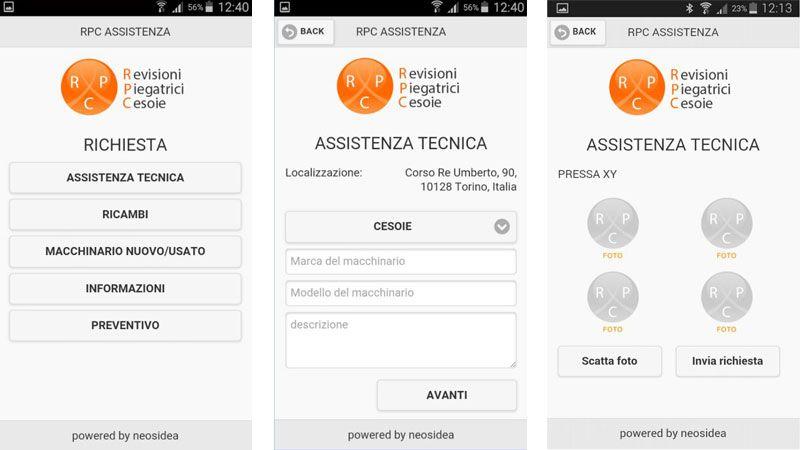 RPC Assistance App