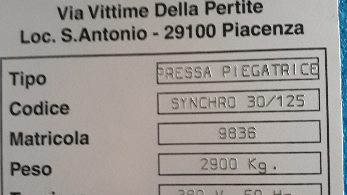 Mecos 30 1250