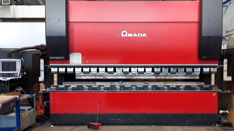 Pressa piegatrice AMADA HFT 170 4 METRI + Cnc  8 ASSI Mpsf + Laser AKAS