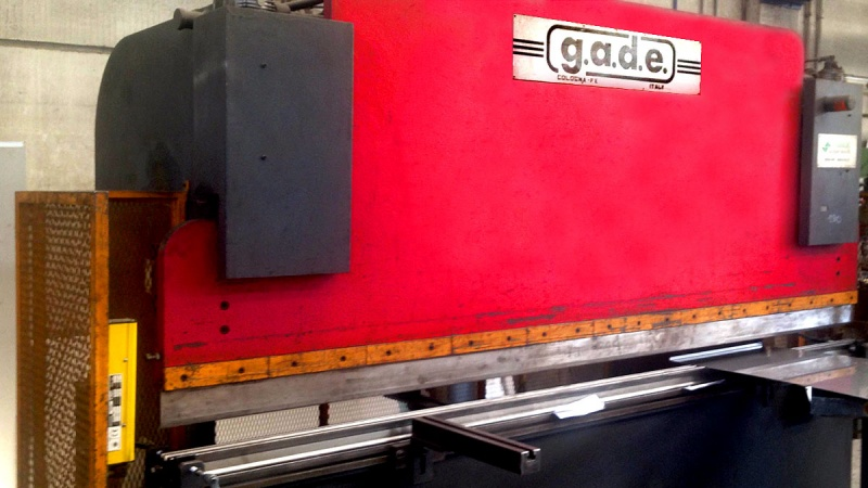GADE PPI 30/50 50 TON press brakes for 3 MT