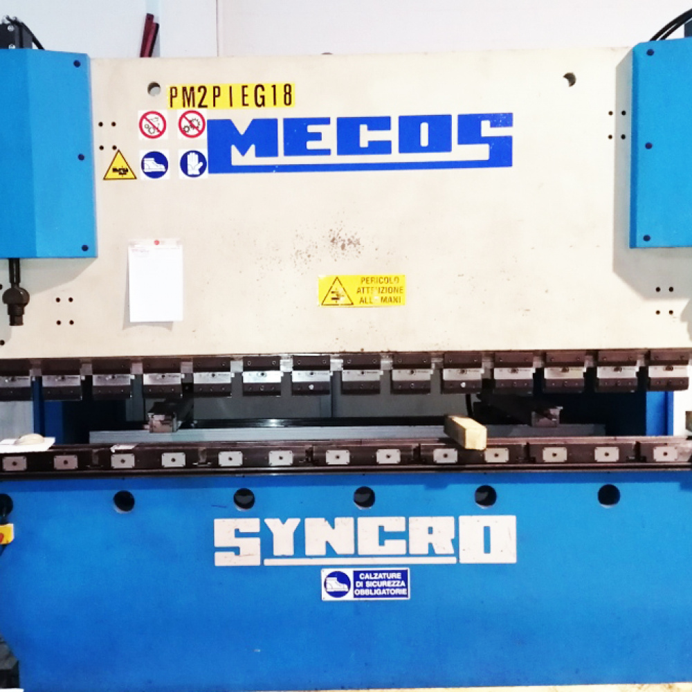 Used Press Brake Mecos SYNCRO 150 3000