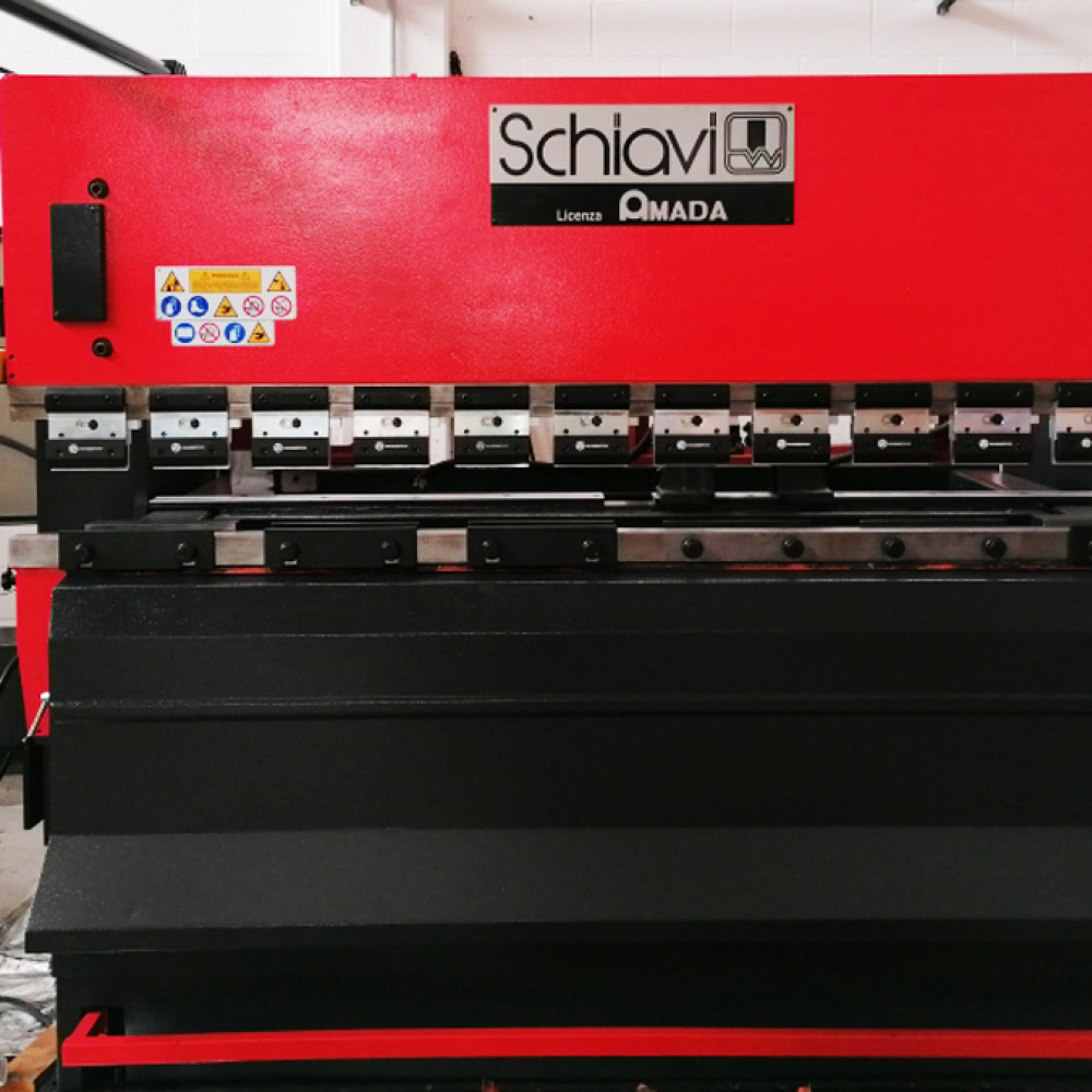 USED PRESS BRAKE Schiavi RG 50-25