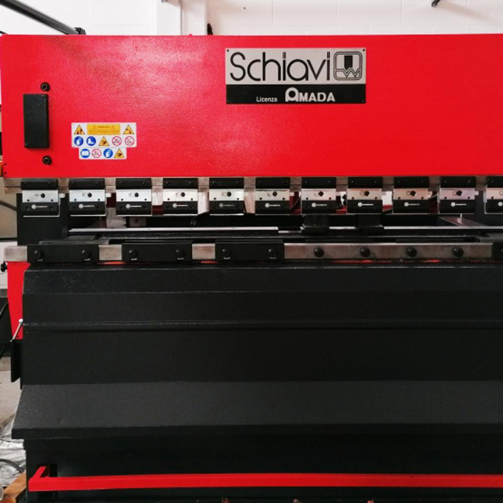 USED PRESS BRAKE Schiavi RG 50-25