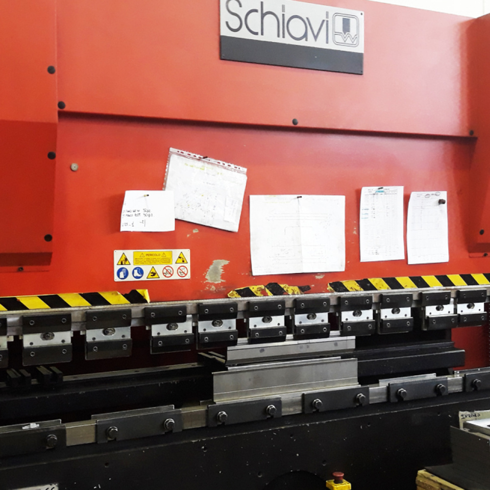 USED PRESS BRAKE Schiavi SEB 5025