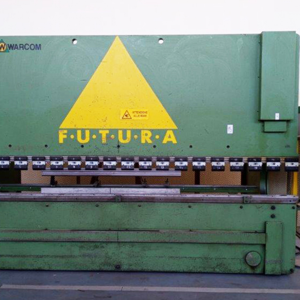 WARCOM FUTURA 160 TON Used Press Brakes