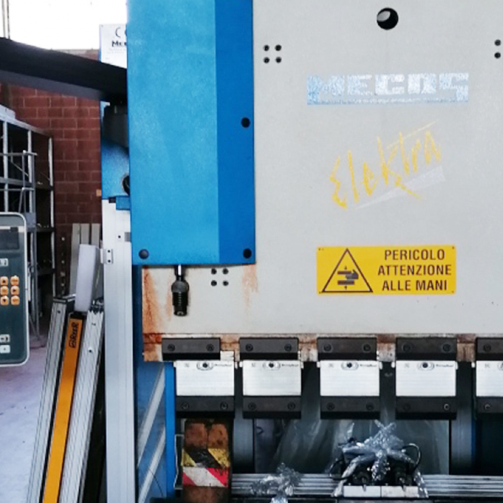 MECOS Elektra 40ton - 1250 mm used press brake